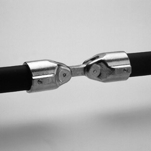 "Adjustable Elbow 180 deg-1-1/4"""