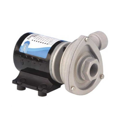 Jabsco 50840-0012 12V Cyclone Low Pressure Circulating Pump