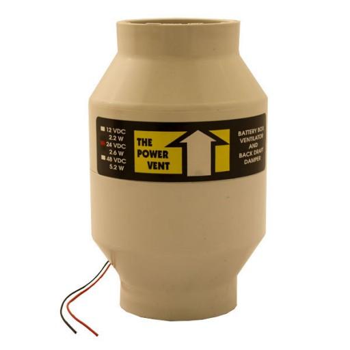 Zephyr Industries Battery Bank Power Vent