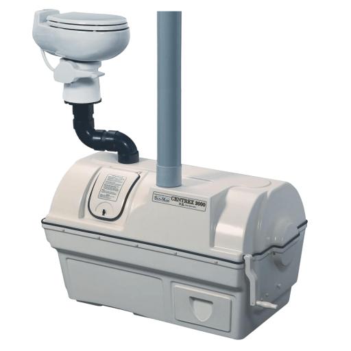Centrex 2000 non-electric central composting unit