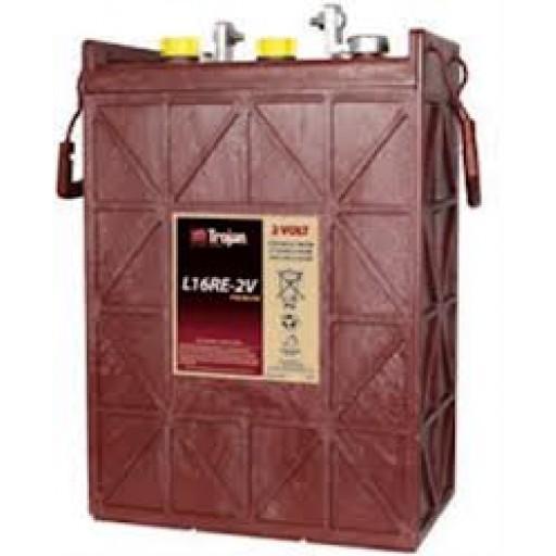 Trojan L16RE-2V Deep Cycle battery, 6 volt