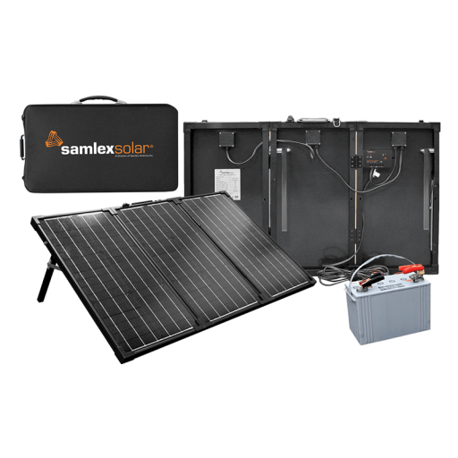 MSK portable solar battery charging kits