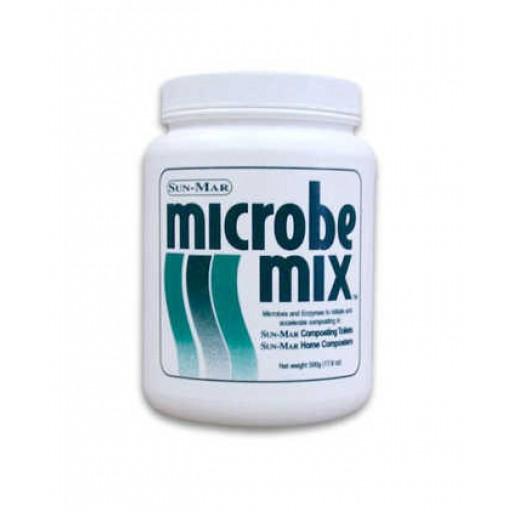 Sun-Mar Microbe Mix Compost Booster: Six Jars