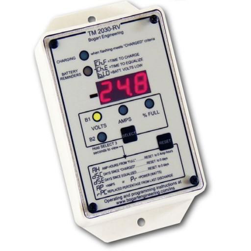 Bogart Engineering TriMetric 2030 Battery Monitor w/ housing
