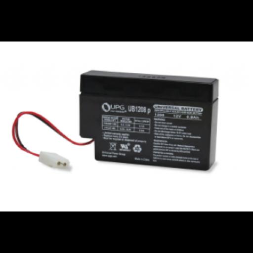 12 volt, 0.8 amp hour SLA Universal Battery