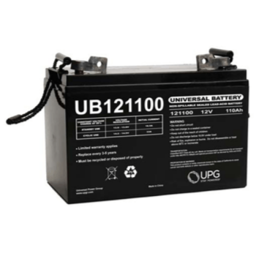 Universal Battery: Sealed AGM 12 volt 110 Amp hours