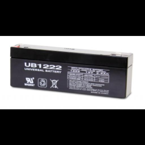 12 volt, 2.2 amp hour SLA Universal Battery