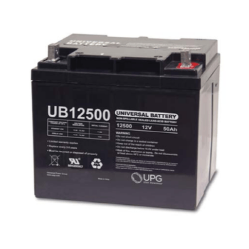 Universal Battery: Sealed AGM 12 volt 50 Amp hours