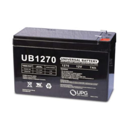 12V 7 amp hour Sealed Lead Acid Universal Battery