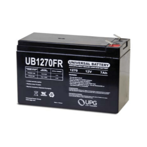 Universal Battery 7.0 Amp hour 12V Sealed Lead Acid Battery