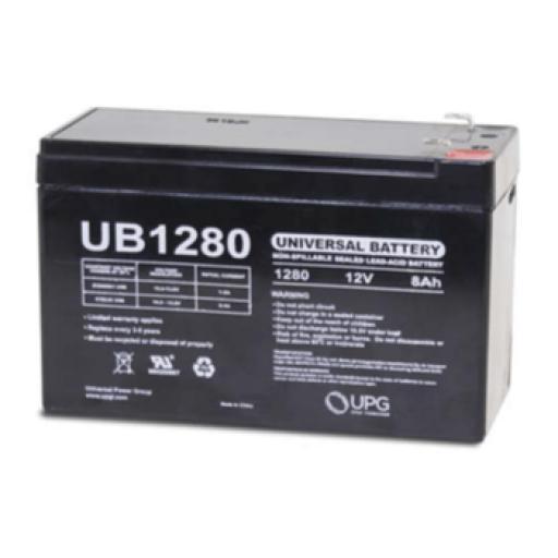 12 volt 8 Amp hour Sealed AGM Battery