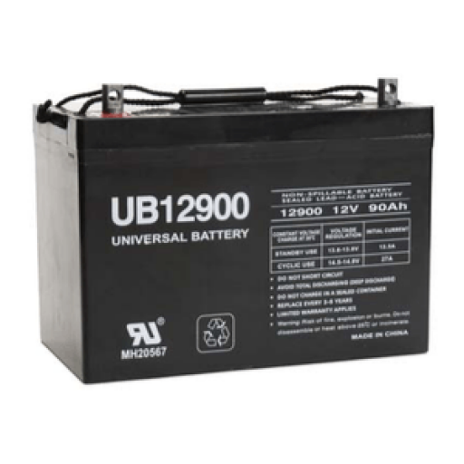 Universal Battery: Sealed AGM 12 volt 90 Amp hours