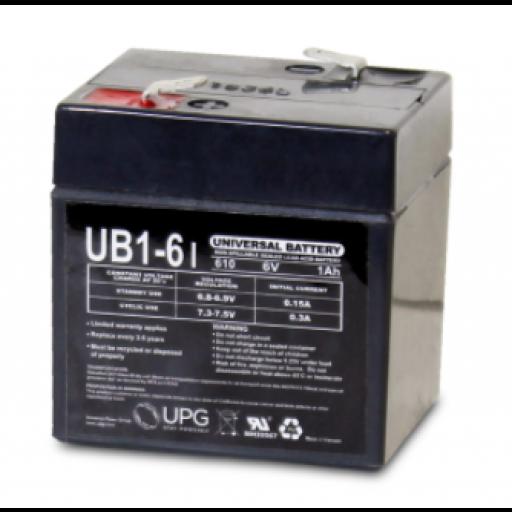 UB610 AGM SLA 6V Universal Battery