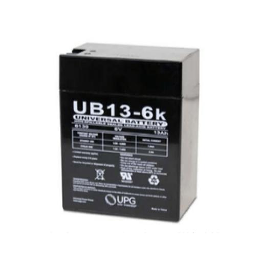 Universal Battery 6V 13Ah Sealed Lead Acid Battery