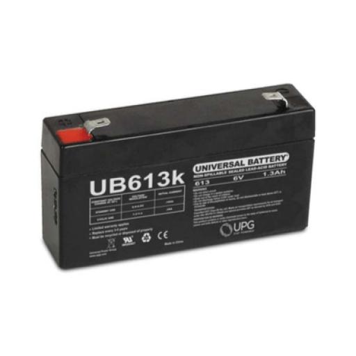UB613 AGM SLA 6 volt battery