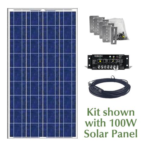 Rv Solar Panel Kit 100 Or 160 Watts Abs Alaskan