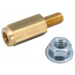 """Top terminal accessory post, 1/4"""" - 20"""
