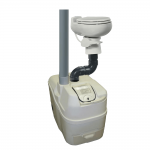 Centrex 1000 NE Central Composter with 1 Pint Flush Toilet