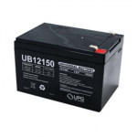 Universal Battery: SLA AGM 12 volt 15 Amp hours