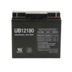 Universal AGM Battery: SLA 12 volt 18 Amp hours