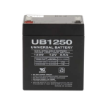 12 volt, 5 amp hour SLA Universal Battery
