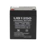 12 volt, 5 amp hour SLA Universal Battery