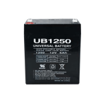 Universal Battery Sealed Lead Acid AGM 5.0 amp hour AGM
