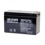 Universal Battery 7.0 Amp hours 12 volt with F2 terminals
