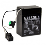 Universal Battery 6V 13Ah Sealed Lead Acid Battery