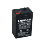 Univeral Battery 6V SLA AGM Battery