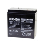 Universal Battery 6V 42Ah Sealed Lead Acid Battery