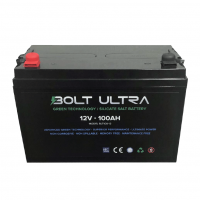 Bolt Silicone (Silicate Salt) 100Ah 12V battery