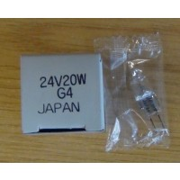 Halogen Bulb, Bi-pin 24V, 20W