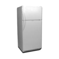 EZ Freeze 19cf Propane Refrigerator: White