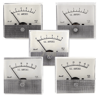 Shurite round barrel analog voltmeters