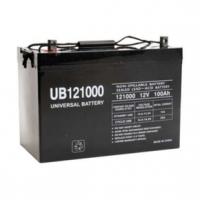 Universal Battery: 100 Amp hour sealed AGM 12 volt battery