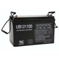 Universal AGM Battery: Sealed 12 volt 110 Amp hours