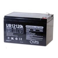 Universal 12 volt 12 Amp hour Sealed AGM Battery