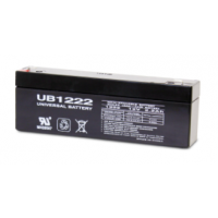 12 volt, 2.2 amp hour SLA Universal Battery