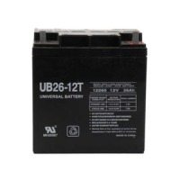 Universal Battery: AGM SLA 12 volt 26 Amp hours