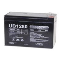 12 volt 8 Amp hour Sealed AGM Battery