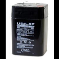 6 Volt 5 Amp F1 Terminal Universal Battery