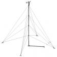 Bergey XL1 80' tilt-up guyed tubular tower