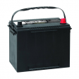 Premium Group 24F Ford Polarity Automotive Battery: 750 CCA