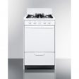 Brown Stoveworks 9V spark gas oven + range combo