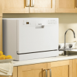 The DDW611 fits easily on standard-size countertops.