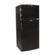 EZ Freeze 15cu. ft. Propane Refrigerator: Black