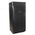 EZ Freeze 19cf Propane Refrigerator: Black