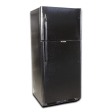 EZ Freeze 21cf Propane Refrigerator: Black