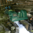 Scott Hydro 1500W low-head hydro turbine